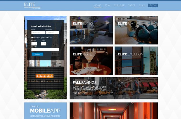 Joomla Template Elite by JoomlaXTC