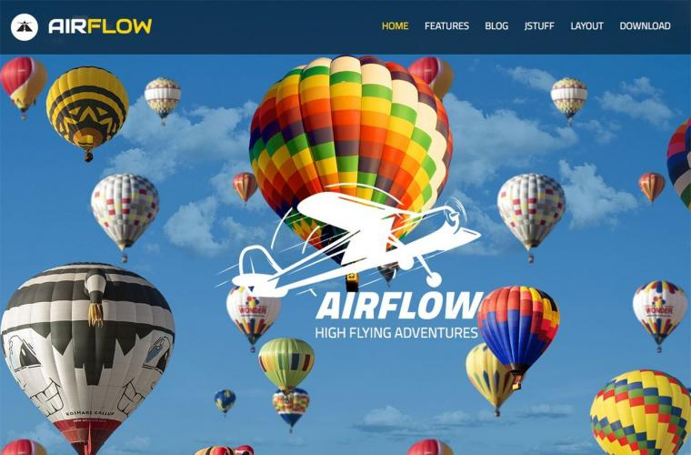 Joomla Template Air Flow by JoomlaXTC